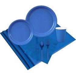 24 Guest Cobalt Blue Party Pack