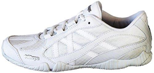 Kaepa Stellarlyte Cheer Shoe (Pair), White, 6