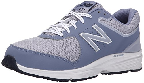New Balance Women's WW411v2 Walking Shoe, Grey, 10 D US