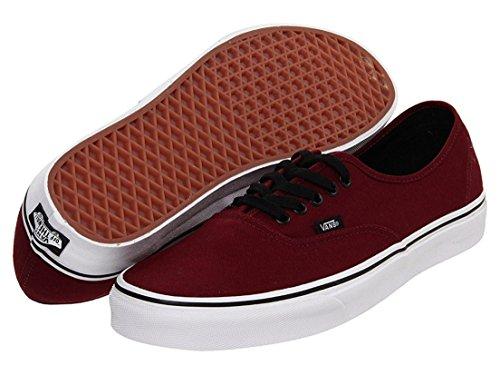 Vans Unisex Authentic Port Royale Red/Black Sneaker – 7.5