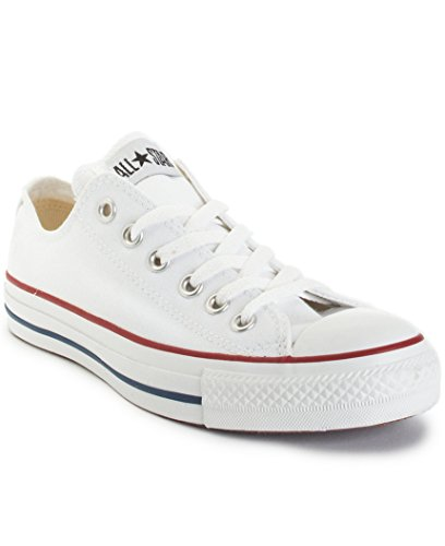 Converse Unisex Chuck Taylor All Star Ox Low Top Optical White Sneakers – 6 D (M) Optical white