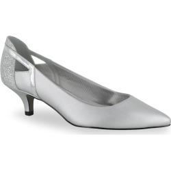Easy Street Fancy Women's High Heels, Size: medium (5), Silver