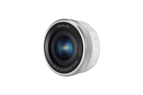 Samsung NX 16-50mm f/3.5 Power Zoom Camera Lens with OIS (White)