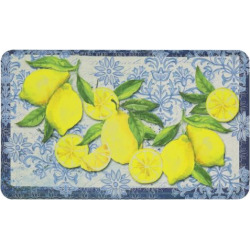 Mohawk® Home Classy Italian Lemons Cushioned Printed Kitchen Mat – 18 x 30, Multi