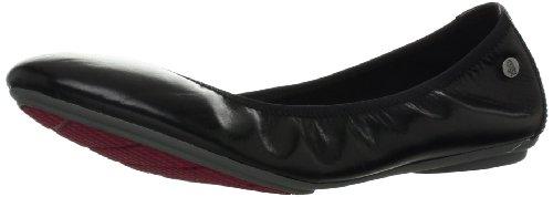Hush Puppies Women's Chaste Ballet Shoe, black, 8.5 M US