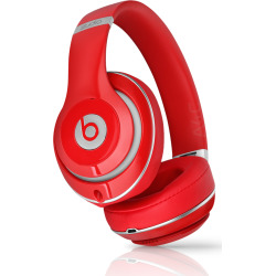 beats by dr dre studio 2 over ear headphones red pre owned - Beats by Dr. Dre Studio 2 Over-Ear Headphones - Red (Pre-Owned)
