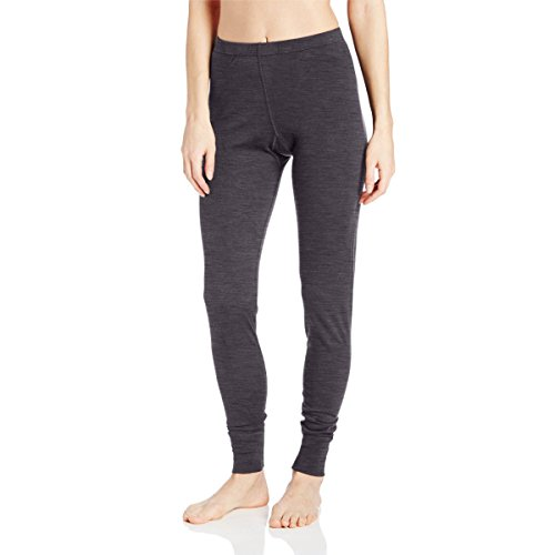 Minus33 Merino Wool Women's Magalloway Lightweight Bottom, Charcoal, X-Large