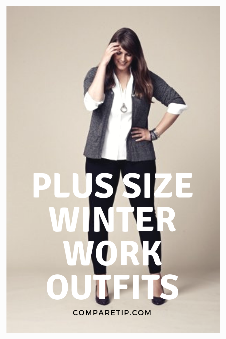 PLUS-SIZE-WINTER-WORK-OUTFITS-YOU-MUST-TRY-1