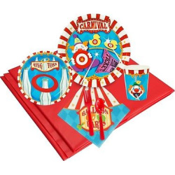 24ct carnival games party pk multicolored - 24ct Carnival Games Party Pk, Multicolored