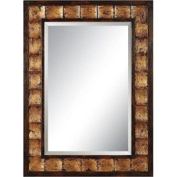 Rectangle Justus Decorative Wall Mirror Gold – Uttermost, Deep Gold
