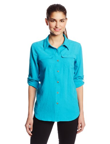 ExOfficio Women's Gill Long Sleeve, Chlorine, Small