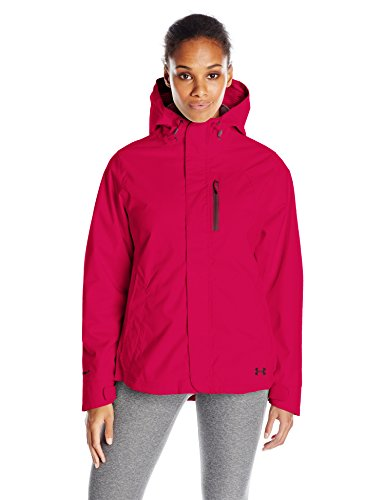 Under Armour Women's ColdGear Infrared Sienna 3-In-1 Jacket, Fury/Ox Blood, X-Large
