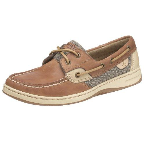 Sperry Top-Sider Women's Bluefish 2-Eye Boat Shoe,Linen/Oat,7 M (US)