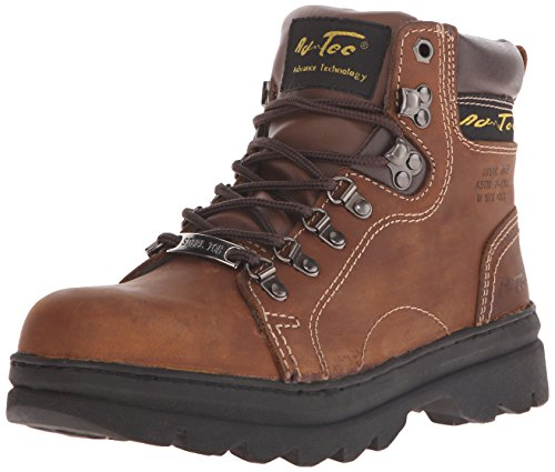 Adtec Women's 6 inch Steel Toe Work Boot, Brown, 8 M US