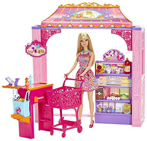 Barbie Life in The Dreamhouse Grocery Store and Doll Playset