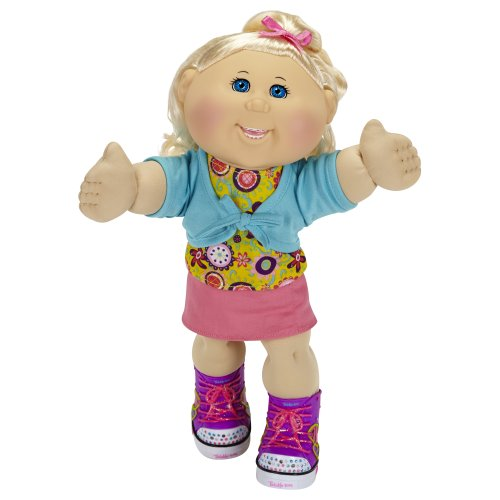 cabbage patch kids twinkle toes caucasian girl doll blonde blue eyes - Cabbage Patch Kids Twinkle Toes: Caucasian Girl Doll, Blonde, Blue Eyes