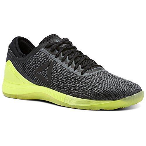 Reebok Men's CROSSFIT Nano 8.0 Sneaker, Alloy/Black/Solar Yellow, 10.5 M US
