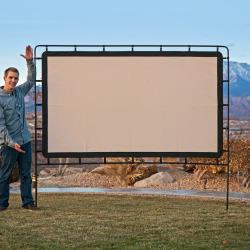 Camp Chef Outdoor Big Screen 92-Inch Lite Portable Movie Screen, Multicolor