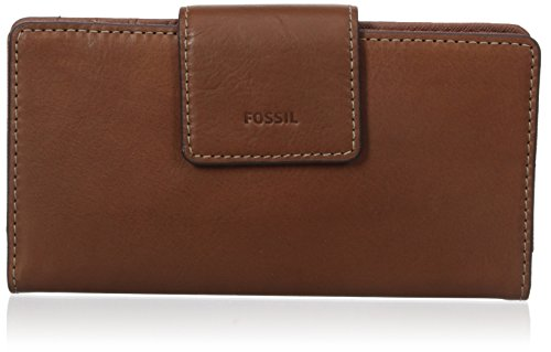 Fossil Emma Tab Clutch Rfid Brown, One Size