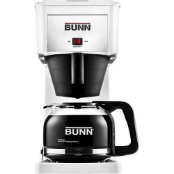 Bunn Velocity Brew 10 Cup Coffee Brewer – White GR-W