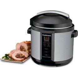 Cuisinart 6 Quart Electric Pressure Cooker, Silver