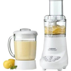 Cuisinart Refurbished Duet Blender & Food Processor – White Bfp-703FR