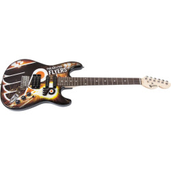 Woodrow Philadelphia Flyers Northender Electric Guitar, Multicolor