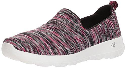 Skechers Performance Women's Go Walk Joy-15615 Sneaker,Black/Pink,8 M US