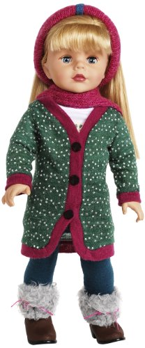 Madame Alexander Sweater Dressing 18″ Doll, Favorite Friends Collection