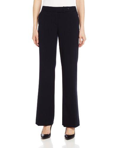 Calvin Klein Women's Classic-Fit Suit Pant, Navy, 10