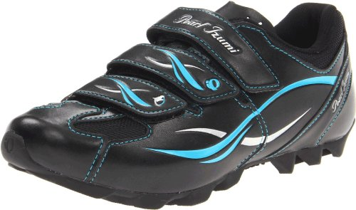 Pearl iZUMi Women's W All-road II Cycling Shoe,Black/Silver,36 EU/4.5 M US