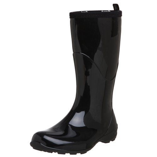 Kamik Women's Heidi Rain Boot,Black/Noir,9 M US