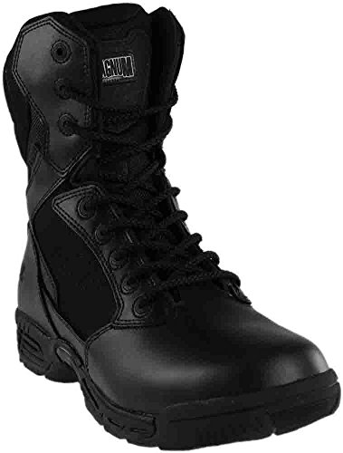 Magnum Women's Stealth Force 8.0 Side Zip Military and Tactical Boot, Black, 7.5 M US