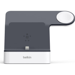 Belkin PowerHouse Charge Dock for Apple Watch + iPhone, White