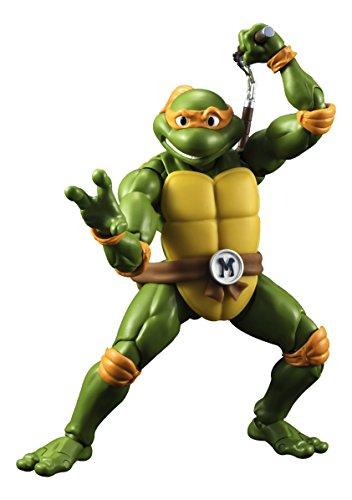 "Bandai Tamashii Nations S.H. Figuarts Michelangelo ""Teenage Mutant Ninja Turtles"" Action Figure"