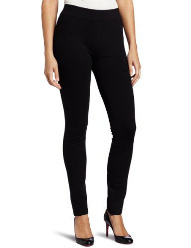 NYDJ Women's Petite Jodie Basic Ponte Pull On Legging, Black, 0P