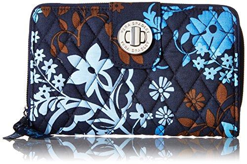 Vera Bradley Turnlock Wallet, Java Floral, One Size
