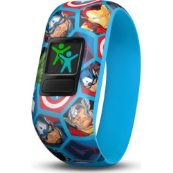 Garmin vivofit jr. 2 Stretchy Activity Tracker – Avengers, Multicolor