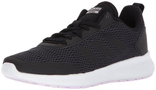 adidas Performance Women's Element Race Running Shoe, Black/Carbon/Aero Pink, 6.5 M US