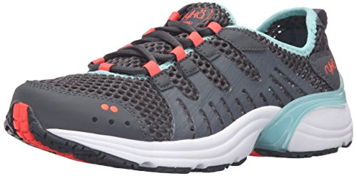 Ryka Women's Hydrosport 2 Athletic Water Shoe, Grey/Blue, 5 M US
