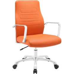 Office Chair Arms Modway Orange