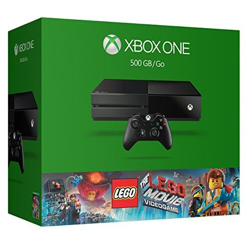 Xbox One 500GB Console – The LEGO Movie Videogame Bundle