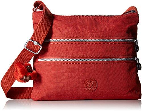 Kipling Alvar Solid Crossbody Bag, red Rust
