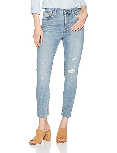 Levi's Women's Wedgie Skinny Jeans, Blue Spice, 27 (US 4)