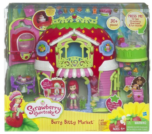 Strawberry Shortcake Berry Bitty Market Playset