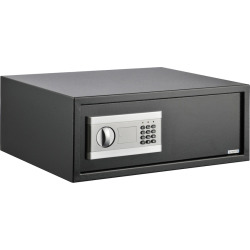 Stalwart Electronic Steel Digital Safe, Black