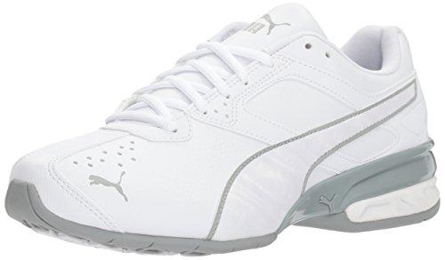 PUMA Women's Tazon 6 IRI Wn Sneaker White-Quarry, 9 M US