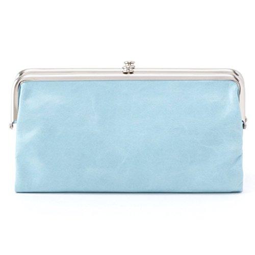 Hobo Womens Lauren Vintage Wallet Clutch Purse (Blue Mist)