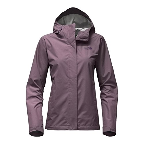The North Face Women's Venture 2 Jacket – Black Plum Heather – XS (Past Season)