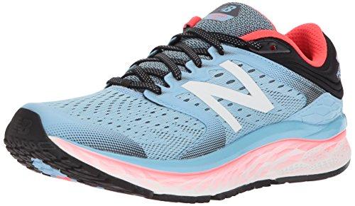 New Balance Women's 1080v8 Fresh Foam Running Shoe, Light Blue, 8.5 B US